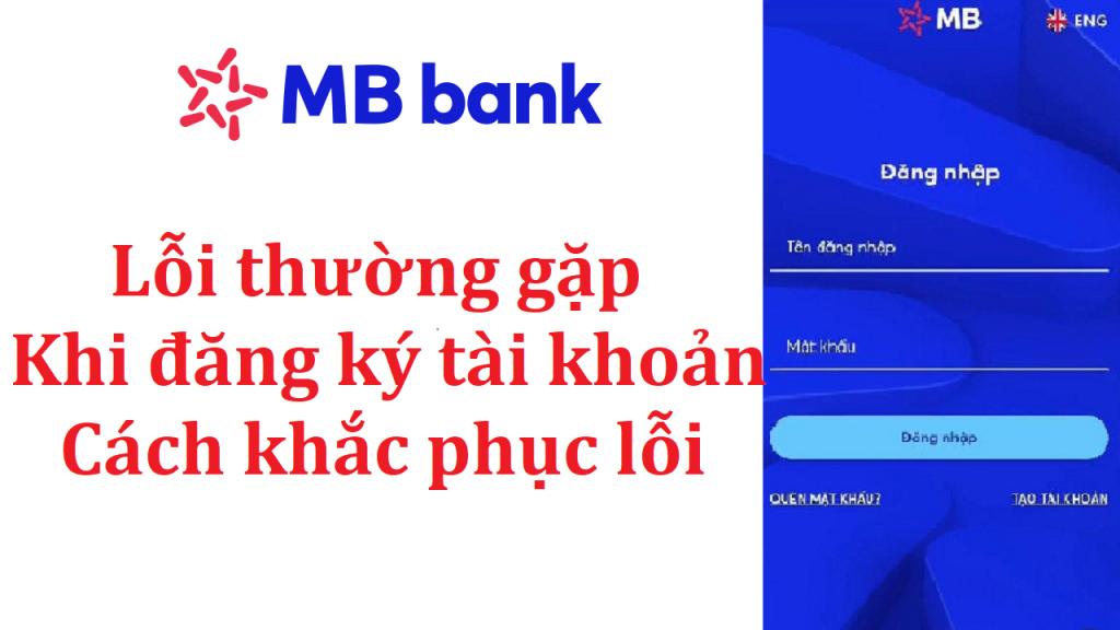 lỗi đăng ký mb bank